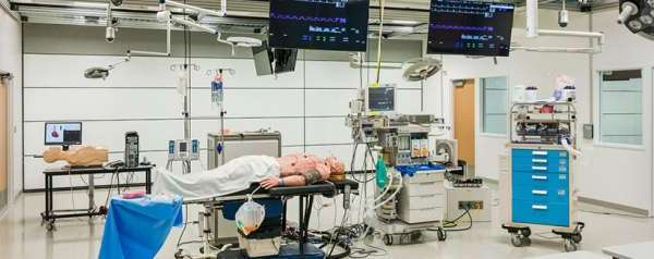 STAN the SimMan in the Experiential Theatre