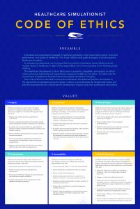 Code of Ethics poster